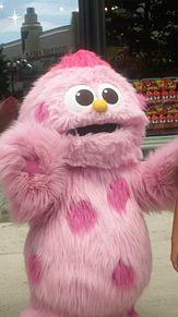 ピンクの癒しモンスターの画像(おもしろ 待ち受けに関連した画像)