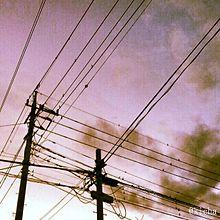 skyの画像(電線に関連した画像)