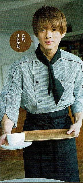 cafe店員キンプリ平野紫耀 週刊少年サンデーの画像(プリ画像)