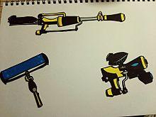 武器切り絵の画像(プリ画像)