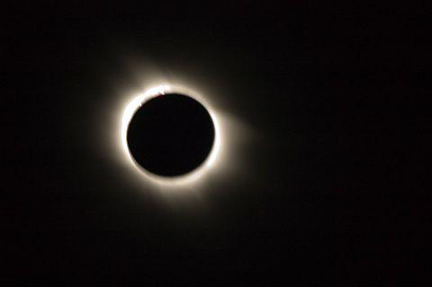 皆既日食の画像(プリ画像)