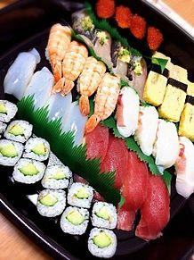 2014/12/31ディナーの画像(お寿司に関連した画像)