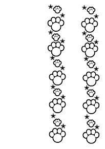 肉球フレームの画像(キンブレ 素材に関連した画像)