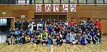 熊本地震1年、巻は子供のためピッチ外でも活動の画像(熊本地震に関連した画像)