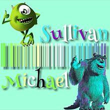 バーコード*サリー&マイク プリ画像