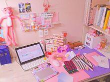 オルチャンの勉強机♡の画像(勉強机に関連した画像)