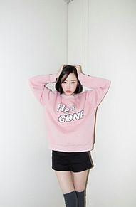 韓国 オルチャン ファッション コーデ プリ画像