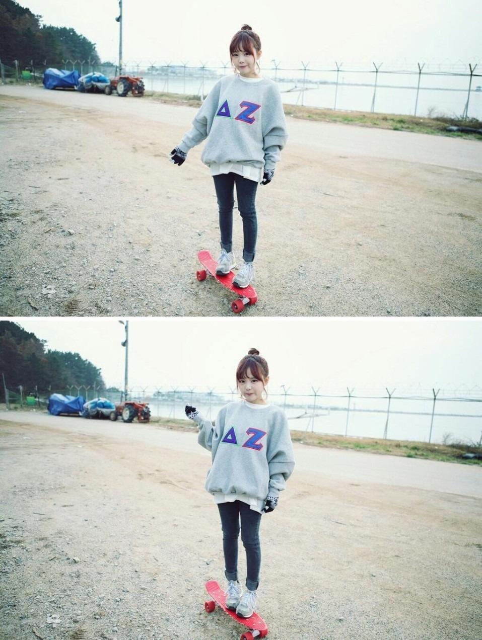韓国 オルチャン ファッション コーデの画像 プリ画像. グレートレーナー♡