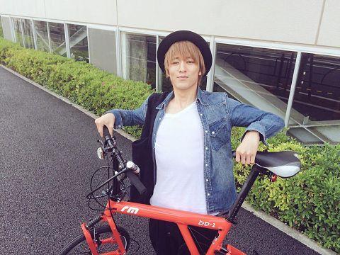 自慢のバイクかな?
