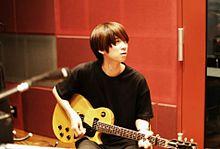 BUMP OF CHICKEN  藤くんのギターを弾くヒロの画像(プリ画像)