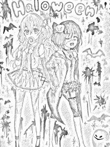 ハロウィン プリ画像