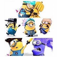 Minions and BIG BANG  プリ画像