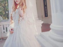 白いドレスの女の子の画像(プリ画像)