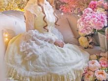 レースの姫袖の白ロリの画像(プリ画像)