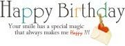 かわいい*デコメ*使える*誕生日おめでとう*HAPPYBIRTHDAYの画像(プリ画像)