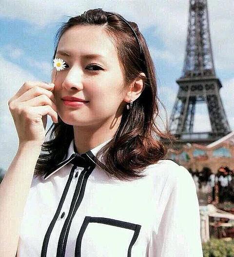 北川景子 フランスの画像 プリ画像