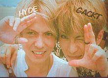GACKT×HYDE♡加工画像の画像(ラルクに関連した画像)