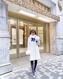 冬コーデ(東京・銀座) プリ画像