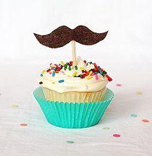 素材 ひげ カップケーキの画像(ひげ 素材に関連した画像)
