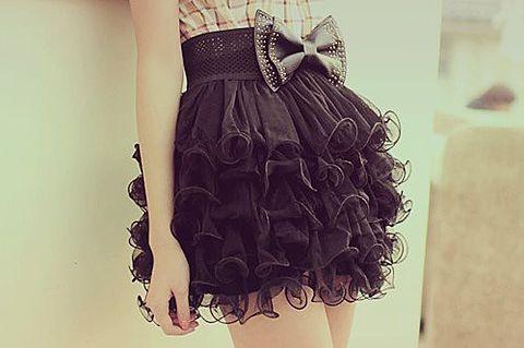 素材 スカート 黒の画像(プリ画像)