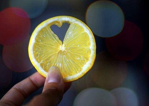 素材 レモン ハートの画像(プリ画像)