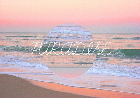 素材 パラダイス 海の画像(プリ画像)