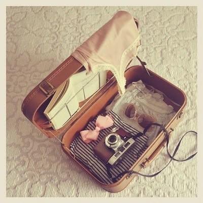 素材 カメラ リボン かばんの画像 プリ画像