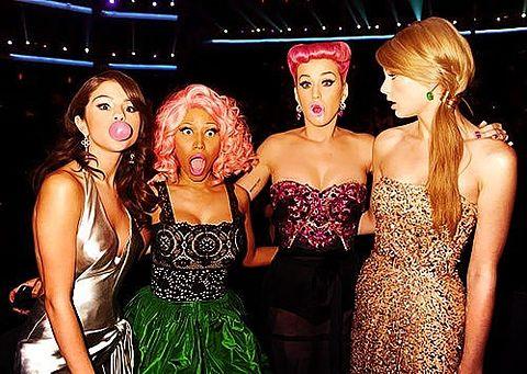 Selena,Nickey,Katy,Taylorの画像(プリ画像)