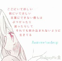 Answer/androp