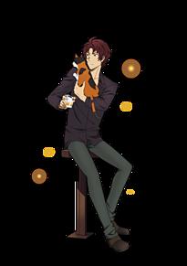 [Lupin]織田作之助≫使用の際は説明文への画像(文豪ストレイドッグス/文ストに関連した画像)