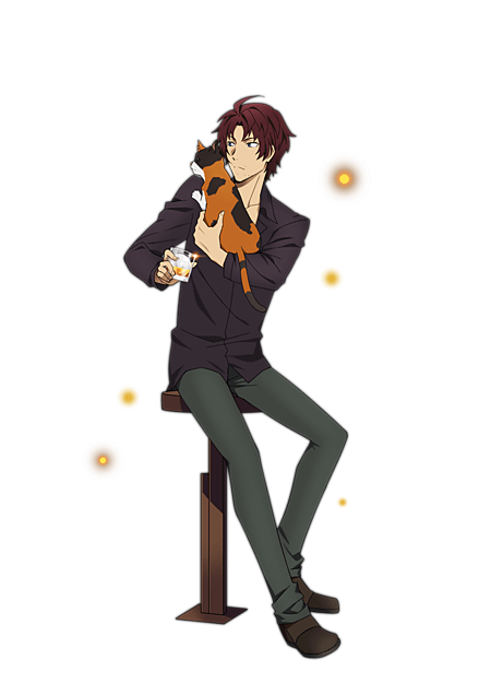 [Lupin]織田作之助≫使用の際は説明文への画像(プリ画像)