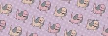 お散歩わんちゃんのTwitter用ヘッダーの画像(Twitter用ヘッダーに関連した画像)