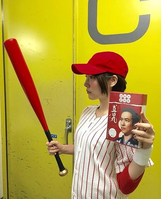 野球応援の内田真礼