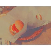 ハンバーガー 。の画像(プリ画像)