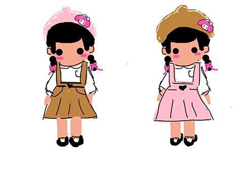 マイメロ系女子の画像(プリ画像)