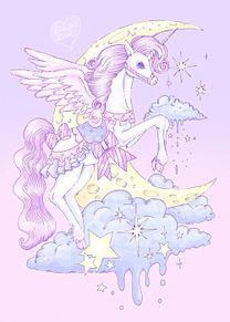 Unicornの画像(幻想的 ペガサスに関連した画像)