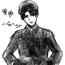 軍服兵長の画像(プリ画像)