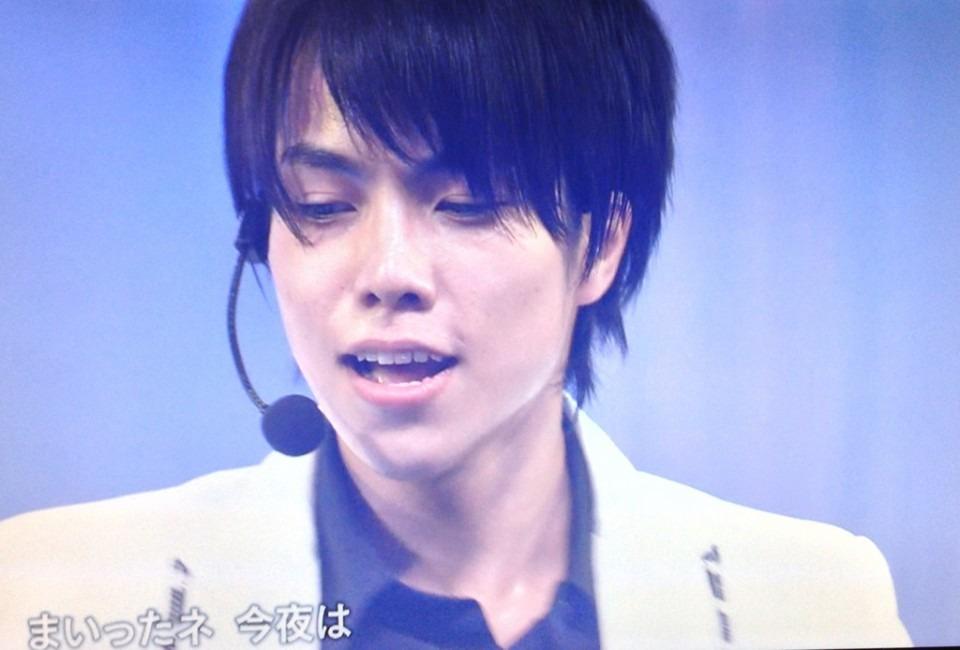 ステージ上では格好良く歌う重岡大毅