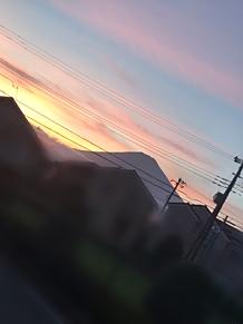 富士山と美しい空の画像(富士山に関連した画像)