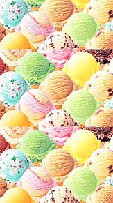 背景の画像(アイスクリームに関連した画像)