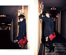 平子理沙、セクシータイツで誘う表情 中根麗子の新ブランド「Lilidia」最新アウターの画像(平子理沙に関連した画像)