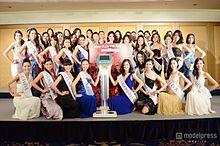 美女42人が艶やかドレスで集結 「2013ミス・ユニバース・ジャパン」ファイナリストが意気込みの画像(ミス・ユニバース・ジャパンに関連した画像)