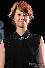 田中美保に「かわいい」の歓声 悪天候でもスマイル全開<写真特集>の画像(モデルプレスに関連した画像)