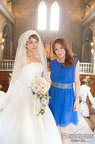 SPEED上原多香子、純白ウエディングドレスでヴァージンロードの画像(モデルプレスに関連した画像)