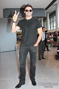 <速報>ヒュー・ジャックマン、『ウルヴァリン:SAMURAI』PRのため成田空港に到着 の画像(モデルプレスに関連した画像)