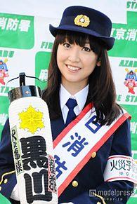 黒川智花、凛とした消防署長の制服で「親孝行できたかな」の画像(プリ画像)