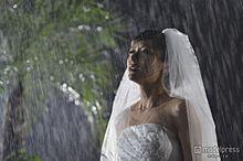 神戸蘭子が涙…どしゃ降りの雨に打たれるの画像(プリ画像)