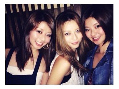 美人な香里奈三姉妹
