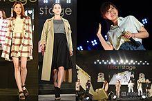 黒田エイミ、宮田聡子ら人気モデルが夜のランウェイで競演 MACOも切ない歌声を響かせる<写真特集>の画像(黒田エイミに関連した画像)