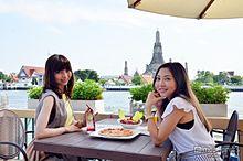 絶景テラスで南国気分、スタイリッシュ空間で味わうタイ料理の画像(タイ料理に関連した画像)